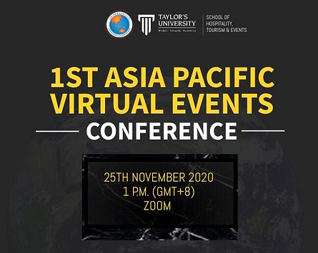 1st Asia Pacific Virtual Events Conference