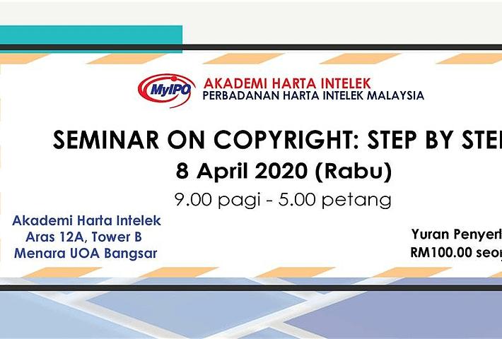 Seminar Hak Cipta Step By Step Evenesis Online Events